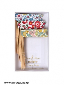 Meri Meri  Liberty Toothpick Flags 24τμχ