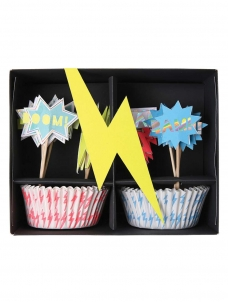 Meri Meri Cupcake Kit Super Hero