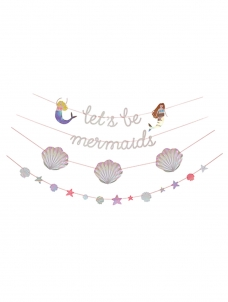 Meri Meri Γιρλάντα Let's Be Mermaids