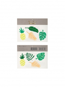 Meri Meri Tropical Leaves Tattoos