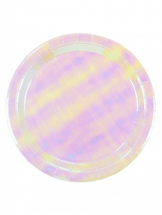 Talking Πιάτα Φαγητού We ♥ Pastel Iridescent