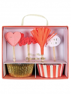 Meri Meri Love Cupcake Kit