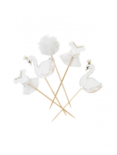 Talking Cake Toppers We ? Swan