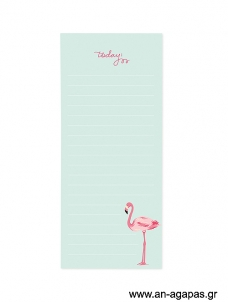 Flamingo - Magnetic notepad