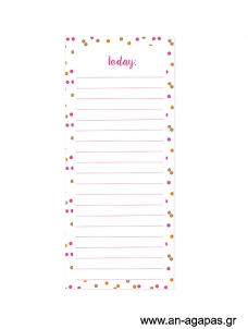 Today - Magnetic notepad