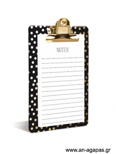 Gold Dots - Clipboard