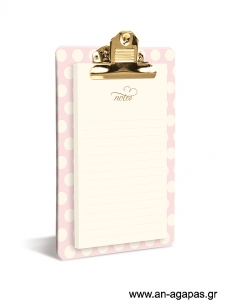 Blush And Gold - Clipboard