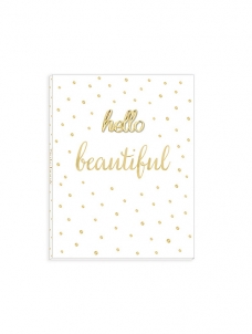 Small Notebook – Hello Beautiful