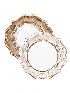 Talking Πιάτα Μεγάλα Party Porcelain Rose Gold