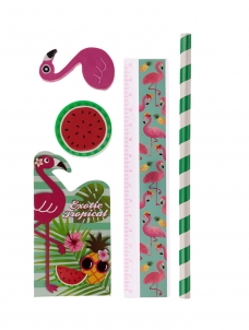 Stationery Set Flamingo