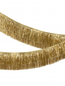 Meri Meri Γιρλάντα Gold Tinsel Fringe