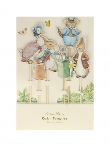 Meri Meri Cupcake Toppers Peter Rabbit & Friends