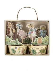 Meri Meri Cupcake Kit Peter Rabbit & Friends