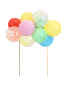 Meri Meri Cake Topper Rainbow Balloon