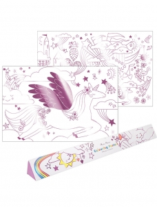 Meri Meri Colouring Posters Unicorn