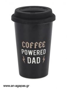 Ποτήρι Coffee Powered Dad