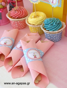 Napkin Ring Sweet Candy Corner