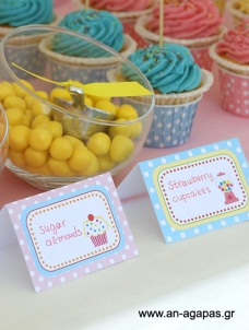 Food Label Sweet Candy Corner