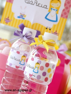 Water Label Sweet Girl