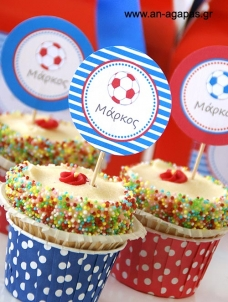 Cupcake Toppers Μπαλα