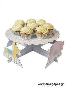 Meri Meri Cake stand Happy Farm