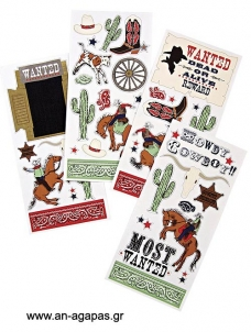 Meri Meri Wall Sticker Cowboy