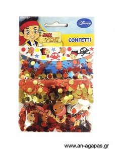 Confetti Jake & Neverland Pirates