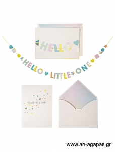 Meri Meri Hello Little One Card