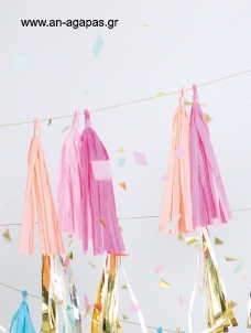 Meri Meri Pink party tassels