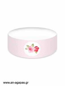 Cake banner Blossom in Pink