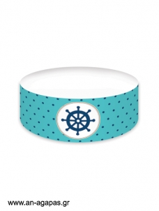 Cake banner Caribbean Nautical