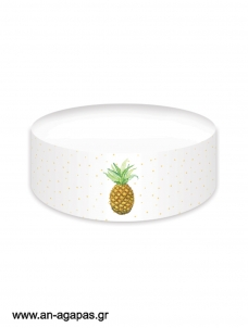 Cake banner Tropical Pineapple