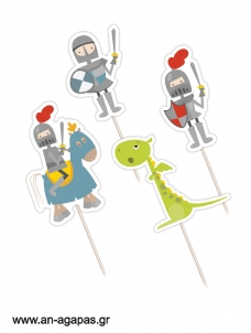 Cupcake Toppers Knight