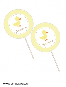 Cupcake Toppers  Little Duck