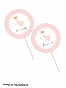 Cupcake Toppers  Cute Fairy
