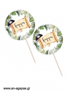 Cupcake Toppers Jungle Pirates