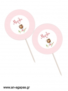 Cupcake Toppers Forest Fairy