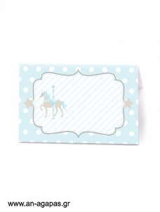 Food Labels Blue Carousel