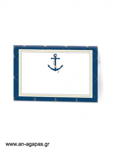 Food Labels Nautical Gold