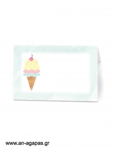Food Labels  Pastel Ice-cream