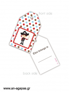 Gift Tags Pirates