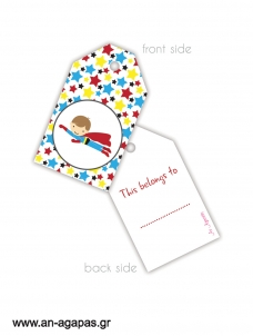 Gift Tags Heroes