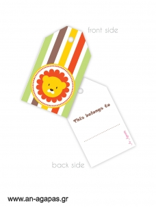 Gift tags Jungle