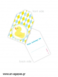Gift tags Duck Tales
