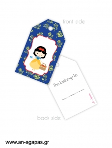 Gift tags Forest Girl