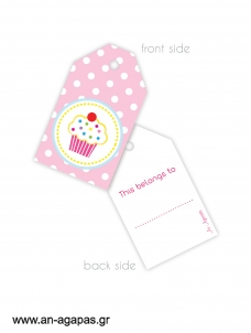 Gift tags Candy Corner