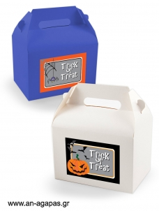 Treat Box Label Halloween