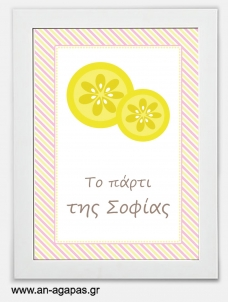 Party sign Pink Lemonade
