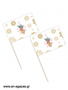 Toothpick flags Christmas Fairy Christmas