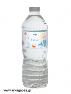 Water Label Mermaid